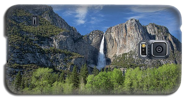 Upper Yosemite Falls In Spring Galaxy S5 Case