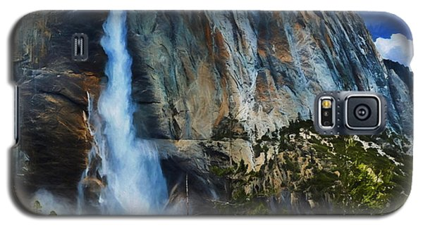 Upper Yosemite Falls Galaxy S5 Case