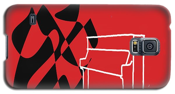 Upright Piano In Red Galaxy S5 Case