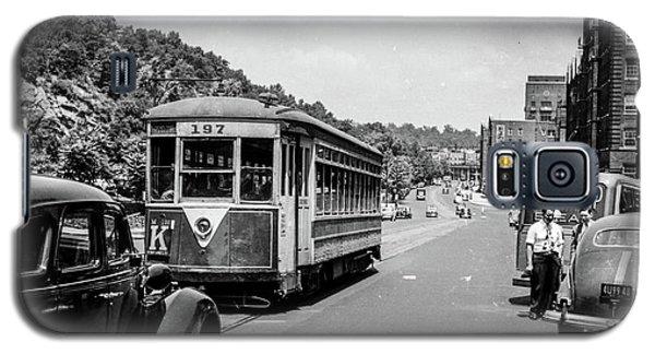 Uptown Trolley Near 193rd Street Galaxy S5 Case