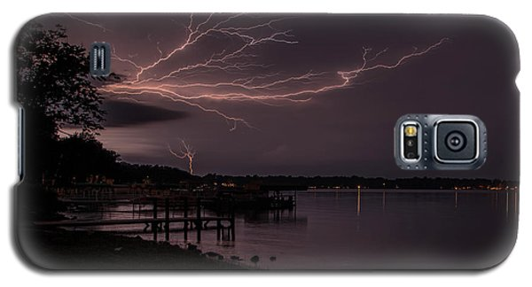 Upward Lightning Galaxy S5 Case