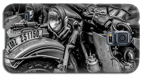 Galaxy S5 Case featuring the photograph Ural Patrol Bike by Anthony Citro