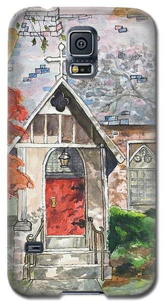 Urban  Church Sketching Galaxy S5 Case
