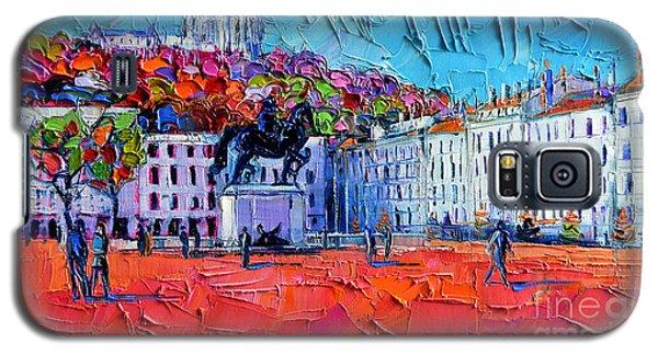 Urban Impression - Bellecour Square In Lyon France Galaxy S5 Case
