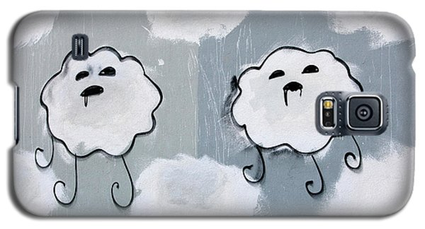 Galaxy S5 Case featuring the photograph Urban Rain Clouds by Art Block Collections