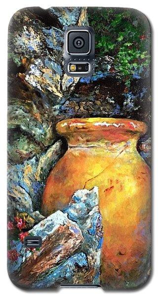 Urn Among The Rocks Galaxy S5 Case