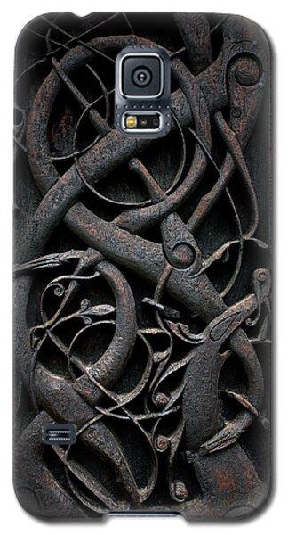 Urnes Stave Church Details  Galaxy S5 Case