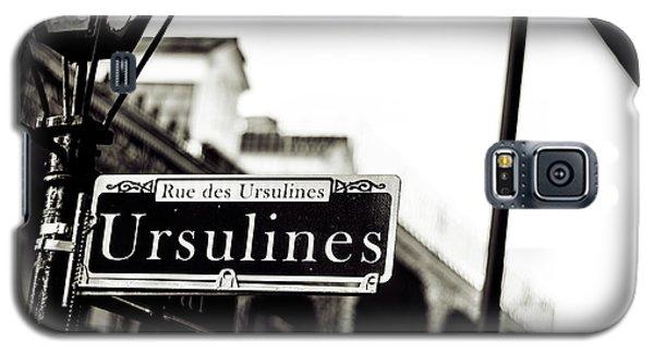 Ursulines In Monotone, New Orleans, Louisiana Galaxy S5 Case
