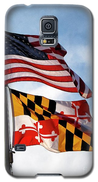 Us And Maryland Flags Galaxy S5 Case