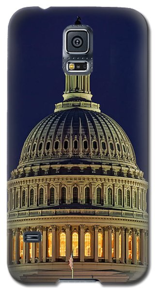 U.s. Capitol At Night Galaxy S5 Case