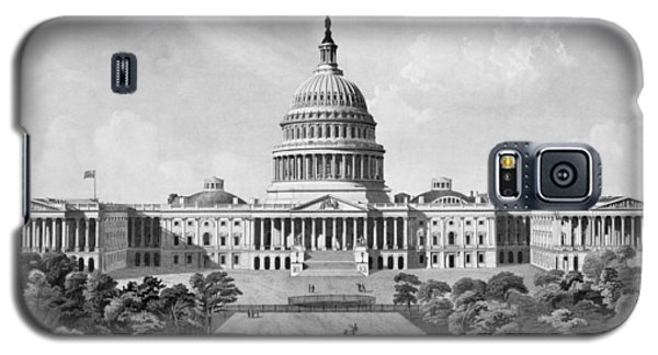Us Capitol Building Galaxy S5 Case by War Is Hell Store