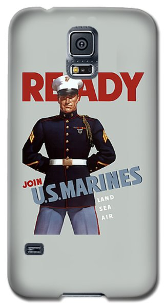 Us Marines - Ready Galaxy S5 Case by War Is Hell Store