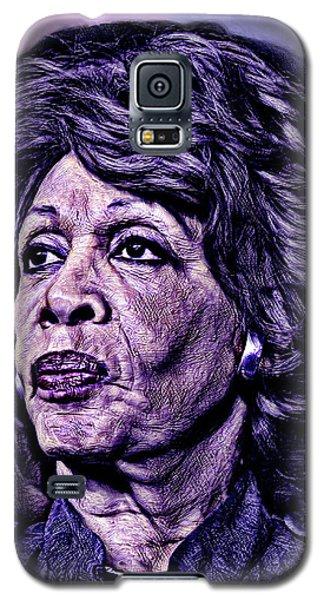 Us Representative Maxine Water Galaxy S5 Case