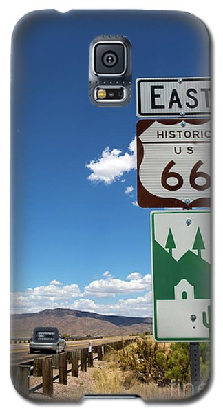 Us Route 66 Sign Arizona Galaxy S5 Case