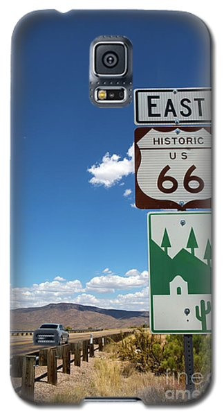 Us Route 66 Sign Arizona Galaxy S5 Case