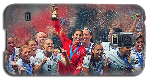 Us Women's Soccer Galaxy S5 Case by Semih Yurdabak