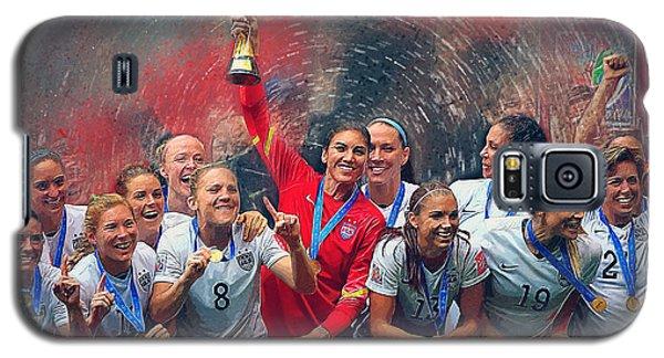 Us Women's Soccer Galaxy S5 Case