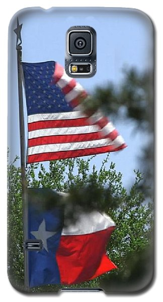 Usa Blesses Texas Galaxy S5 Case
