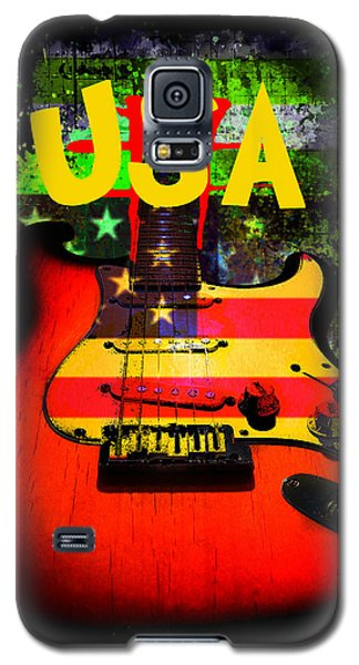 Usa Guitar Music Galaxy S5 Case