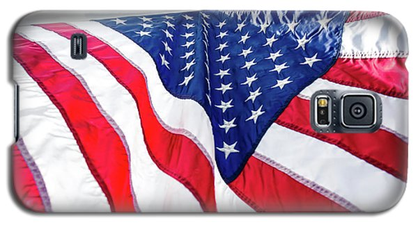 Galaxy S5 Case featuring the photograph Usa,american Flag,rhe Symbolic Of Liberty,freedom,patriotic,hono by Jingjits Photography