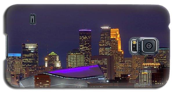 Usbank Stadium Dressed In Purple Galaxy S5 Case