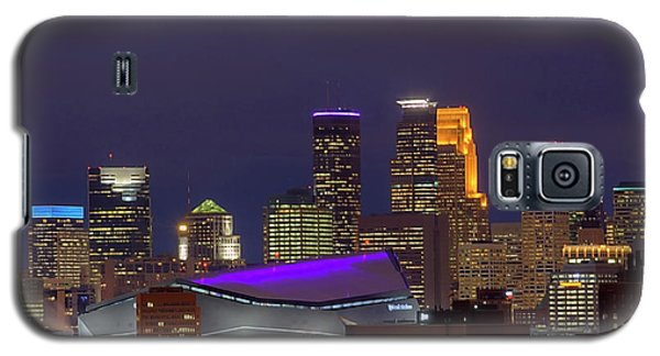 Usbank Stadium Dressed In Purple Galaxy S5 Case