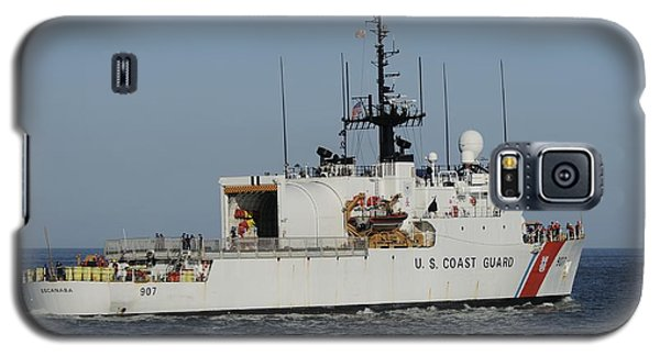 Uscgc Escanaba Heads To Sea Galaxy S5 Case