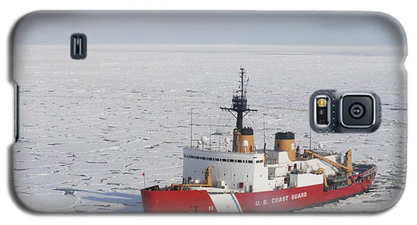 Uscgc Polar Sea Conducts A Research Galaxy S5 Case