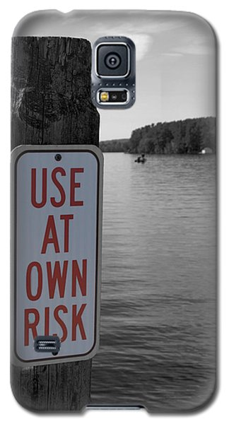 Use At Own Risk Galaxy S5 Case
