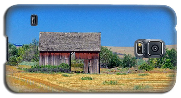 Used To Be Red Barn Galaxy S5 Case