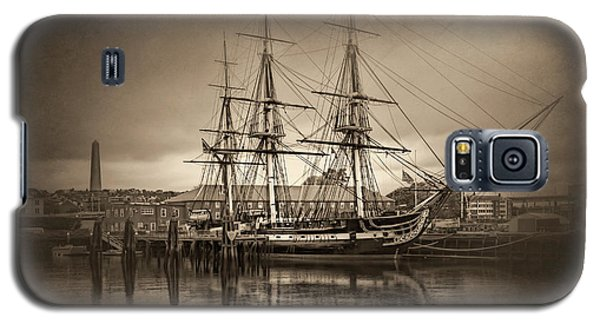 Uss Constitution Boston Vintage Galaxy S5 Case