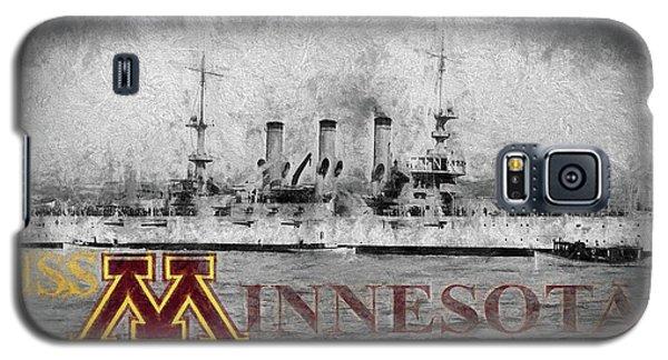 Uss Minnesota Galaxy S5 Case by JC Findley