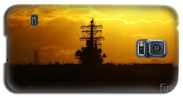 Uss Ronald Reagan Galaxy S5 Case