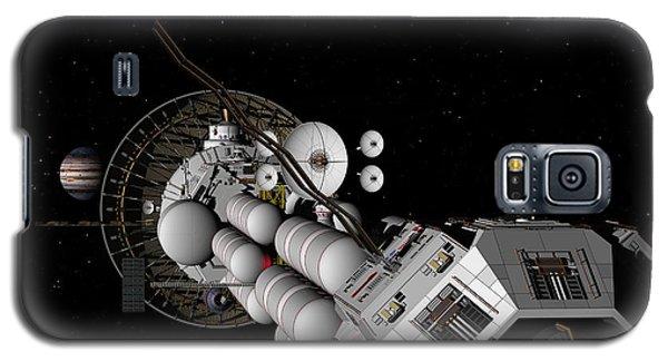 Uss Savannah Nearing Jupiter Galaxy S5 Case