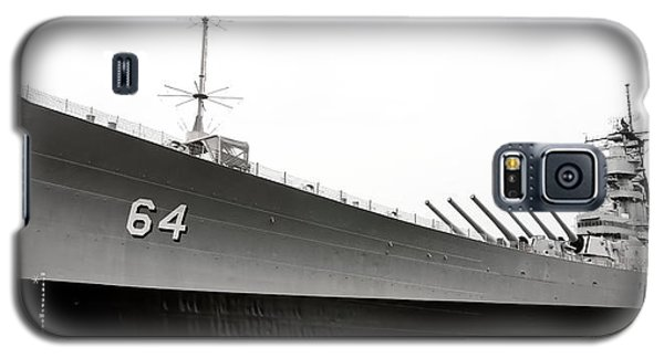 Uss Wisconsin - Port-side Galaxy S5 Case by Christopher Holmes