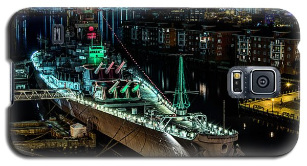 Uss Wisconsin Galaxy S5 Case