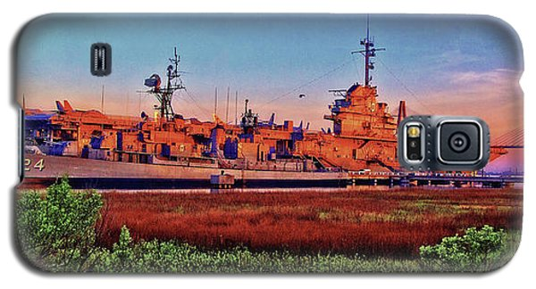 Uss York Town Galaxy S5 Case