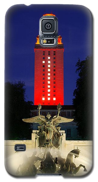 Ut Austin Tower Orange Galaxy S5 Case