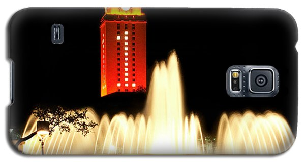 Ut Tower Championship Win Galaxy S5 Case by Marilyn Hunt