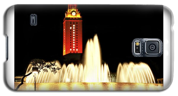 Ut Tower Poster Galaxy S5 Case by Marilyn Hunt