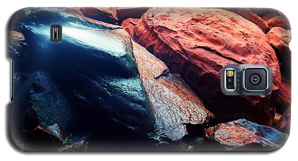 Utah - Emerald Pool Boulders Galaxy S5 Case