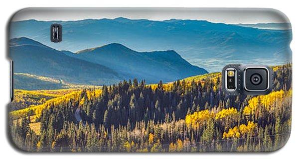 Utah Autumn Panorama Galaxy S5 Case