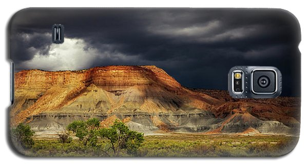 Utah Mountain With Storm Clouds Galaxy S5 Case by John A Rodriguez