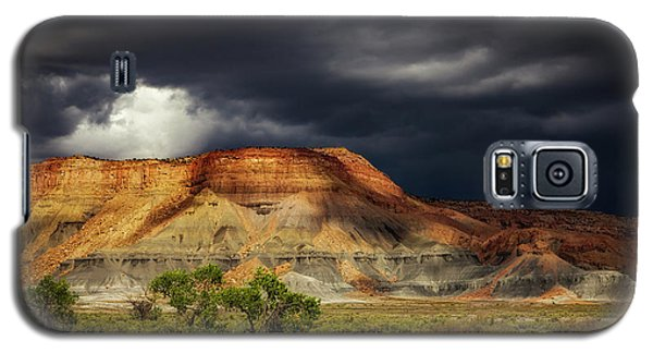 Utah Mountain With Storm Clouds Galaxy S5 Case