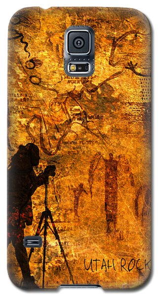 Utah Rock Art Montage Galaxy S5 Case