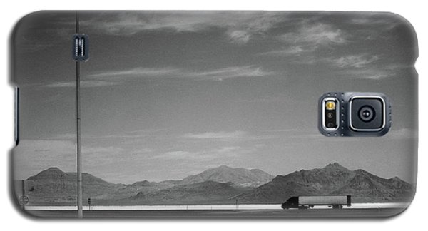 Utah Salt Flats Galaxy S5 Case by Art Shimamura