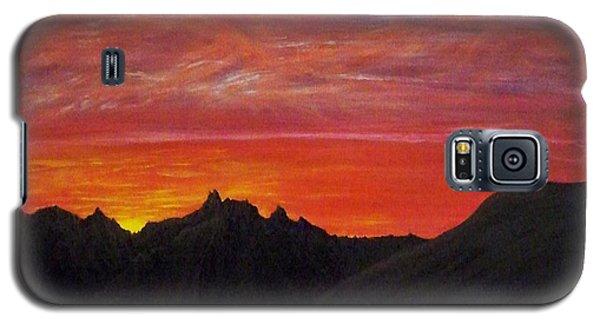 Utah Sunset Galaxy S5 Case