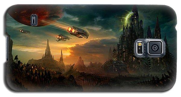 Utherworlds Sosheskaz Falls Galaxy S5 Case by Philip Straub