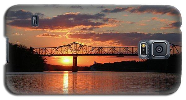 Utica Bridge At Sunset Galaxy S5 Case