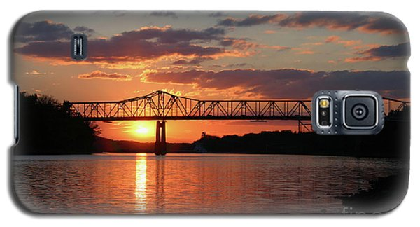 Utica Bridge Sunset Galaxy S5 Case